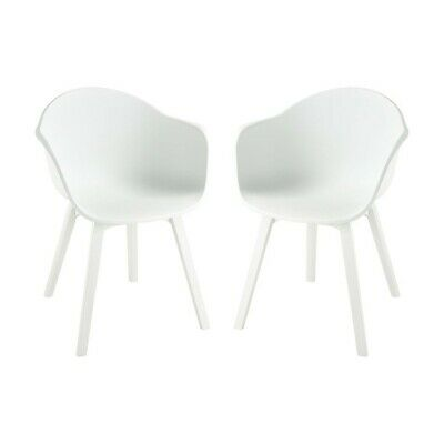 Sterling Laughing At Clouds Chair, White - 4210-006-S2