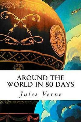 NEW Around The World In 80 Days BOOK (Paperback / softback) Free P&H