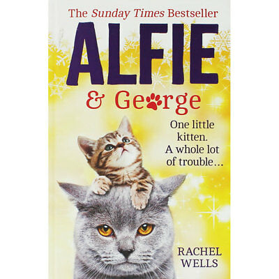 Alfie and George by Rachel Wells (Hardback), Fiction Books, Brand New