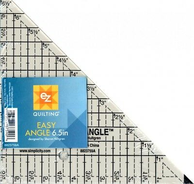 EZ Easy Angle Acrylic Quilting Template (882670179A-M(P))