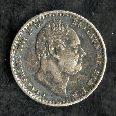 William IV Maundy Penny Silver 1834