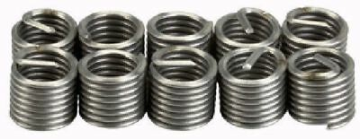 """Industrial Quality 10PCE 1/4""""-20 UNC Helicoil Type Thread Repair Inserts"""