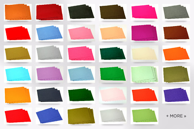 "Sticky Back Self Adhesive Acrylic Felt Fabric 9"" x 12"" Rectangle (FFELT912-AD..."