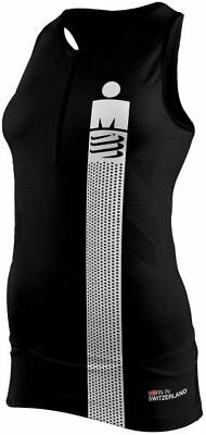 Compressport TR3 Women's Tank Top smart black
