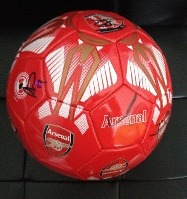 Arsenal F.c. - Official Football Signed By - 12 Squad Members