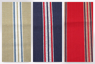 Ticking Stripe Woven Cotton Canvas Upholstery Fabric (JL-85211-M)