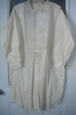 Antique Vtg Mens Tuxedo Bib Shirt Conrad Richter Leipzig Germany 1930's? Cuffs +