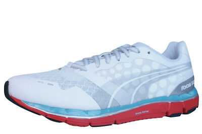1b0d35244043 PUMA FAAS 800 S Womens Trainers Running Shoes Grey Orange Lace Up ...