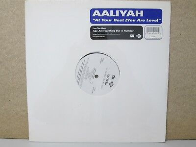 "Aaliyah – At Your Best (You Are Love) 12"" Single 2004 Reissue NEW SEALED *RARE*"