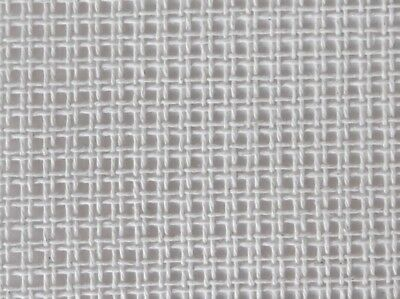 12 HPI Double Tapestry Canvas  White - per metre (CD12WS)