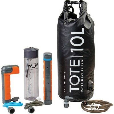 Renovo Water REN-M-10 Eclipse Activated Carbon Water Filtration System w/Tote