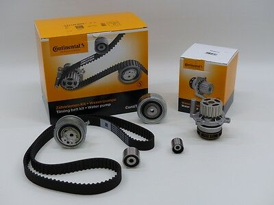 Timing Belt Kit ContiTech incl. Wapu ct1139wp6 Audi Seat VW 1.2-1.6-2.0 TDI 16V