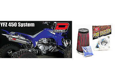 DMC QUIET SLIP On Exhaust Pipe Yamaha YFZ 450 YFZ450 - $260 06