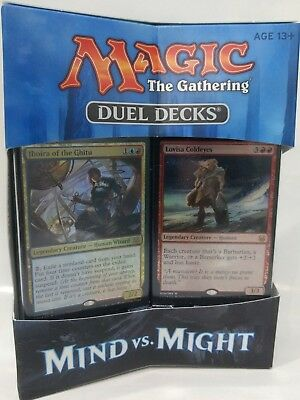Magic The Gathering (MTG) Duel Decks Mind Vs Might