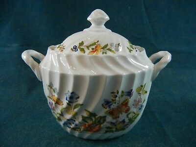 Aynsley Cottage Garden Covered Sugar Bowl with Lid