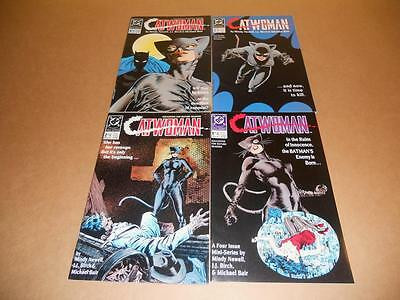Catwoman 1 2 3 4 Dc 1988 Full Set!
