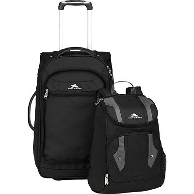 High Sierra Adventure Access Carry On Wheeled  BACKPACK Rolling Backpack NEW