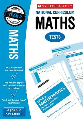 ` Maths Test - Year 2 (National Curriculum SATs Tests) (Paperback), Montague-Sm.