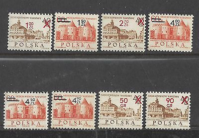 1972 Poland stamps 700 Anniversary Of Warsaw mnh