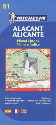 Map 9081 Alicante (Michelin City Plans) by unknown | Map Book | 9782067127937 |