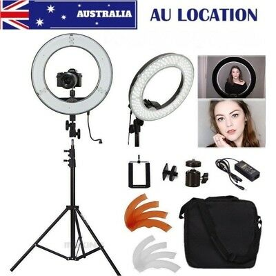 """AU STOCK Dimmable 14""""/36cm LED Ring Light and Light Stand 40W 5500K Light Kit"""