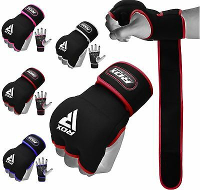 RDX Boxing Inner Quick Hand Wraps Weight Lifting Gloves Bandages MMA AU