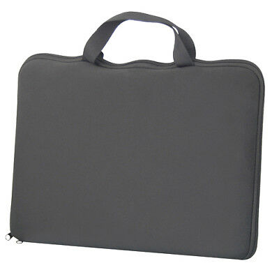 "15.6"" Stylish Black Laptop Notebook Sleeve Bag Case Cover Skin for Dell Sony HP"
