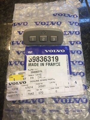 Genuine Volvo Homelink button facia XC90 pn: 39836319