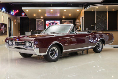 1967 Oldsmobile 442 Convertible Fully Restored 442! #s Matching Oldsmobile 400ci V8, TH400 Automatic, PS, PB