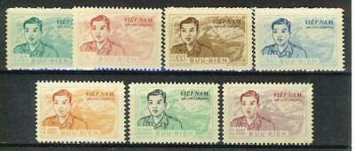 Postage Due Mi 10-16 with 11c variety Mint  Ref 09032102