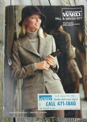 Montgomery Ward Fall And Winter 1977 Catalog