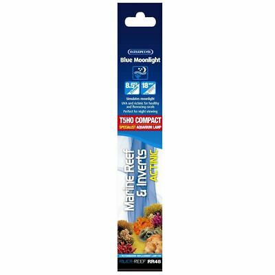 Interpet Blue Moonlight 18W T5 Uva Actinic Marine Aquarium Light Bulb Reef Coral
