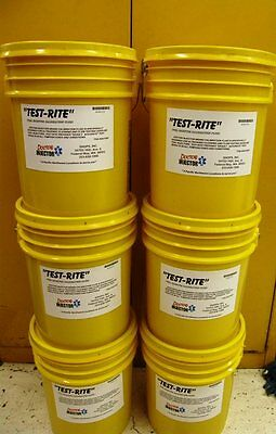 """Fuel Injector """"TESTRITE"""" calibration fluid 5 gal. pail Launch Injector machines!"""