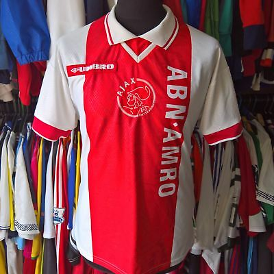 Ajax 1998 Home Football Shirt Umbeo Jersey Size Adult M