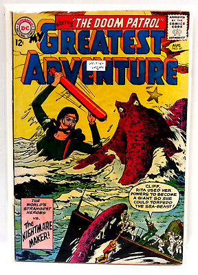 #81 MY GREATEST ADVENTURE (Doom Patrol) DC Silver Age Comic Book- Good (DP-81)