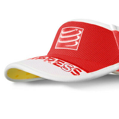 Compressport Ultralight Visor V2 One Size RED