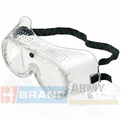 B-Brand Lightweight General Purpose Direct Vent Safety Goggles Builders Clear