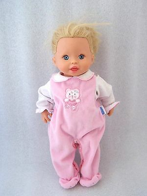 2006 Mattel Little Mommy Baby Gotta Go Potty Interactive Pink Onepiece Doll WORK