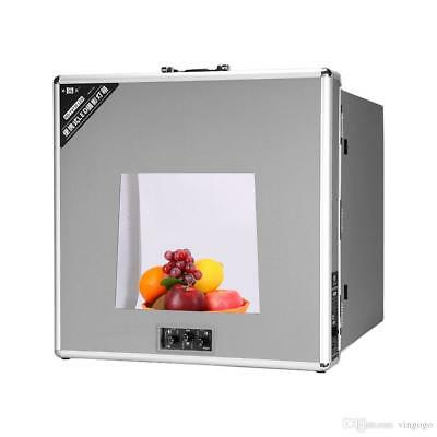 Studio in a Box. Pro LED Lightbox with Backgrounds for Product Photography MED