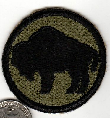 Original US ARMY WWII Buffalo Soldier 92th Infantry Division Patch ww2 Italy