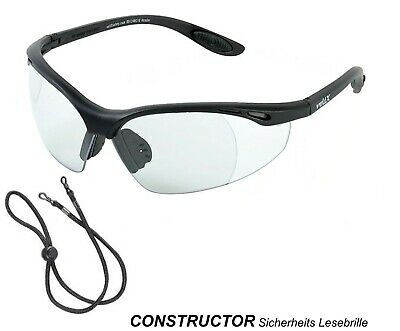 Constructor Safety Reading Glasses - Incl. Eu