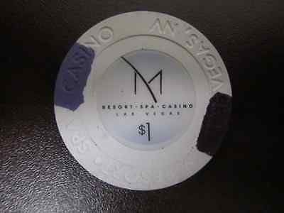 $1 M RESORT SPA Gaming Casino Chip for Collection + FREE Las Vegas Poker Chip