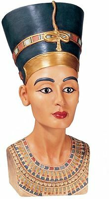 Queen Nefertiti Bust Egyptian Royal Sculpture Ruler of the Nile Large Statue NEW