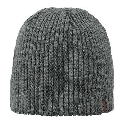 a08d3abc4d7a Barts Unisex Hat Wilbert Beanie High-Quality Simple Warm Heather Grey Grey