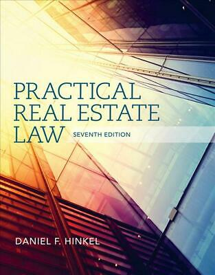 Practical Real Estate Law by Daniel F. Hinkel (English) Hardcover Book Free Ship