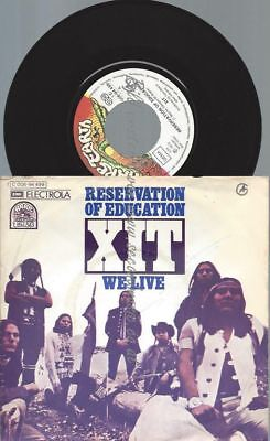 "7"" XIT ‎– Reservation Of Education"