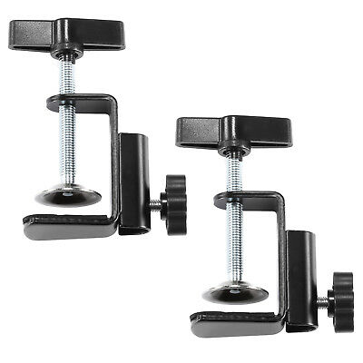 Neewer 2 Pack Heavy-duty Metal Table Mounting Clamps