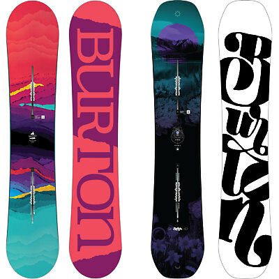 Burton Feelgood Flying V Rocker Damen All Mountain Snowboard 2016-2018 NEW