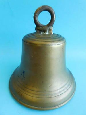 Classic Large Antique Ships School House Bell 1900s.