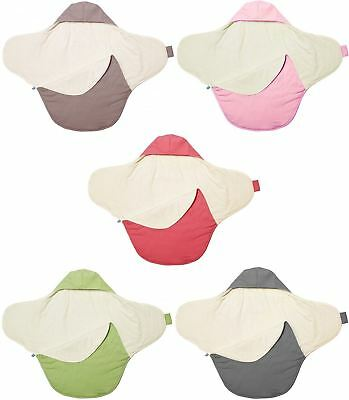 Walla Boo BABY BLANKET COCO Reversible Car Seat/Buggy 100% Cotton 90x70cm BN